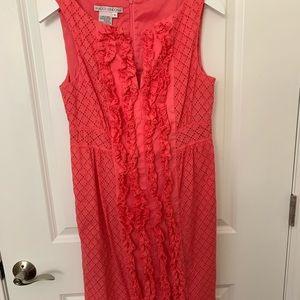 Pink Maggie London Eyelet Dress